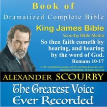 Scourby Dramatized Complete Bible by Scourby Bible Media audiobook