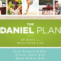 The Daniel Plan by Rick Warren, DMin audiobook