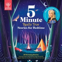 5-Minute Really True Stories for Bedtime by Jackie McCann audiobook