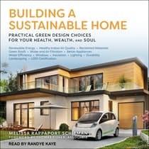 Building a Sustainable Home by Melissa Rappaport Schifman audiobook