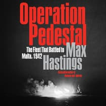 Operation Pedestal by Max Hastings audiobook