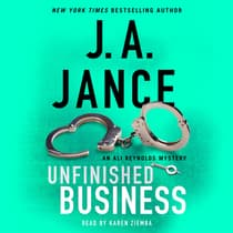Unfinished Business by J. A. Jance audiobook