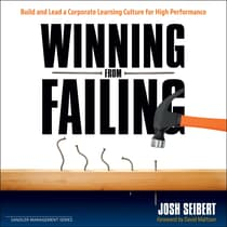Winning From Failing by Josh Seibert audiobook