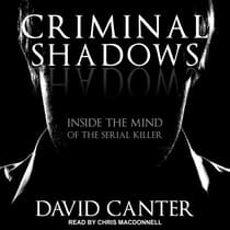 Criminal Shadows by David Canter audiobook