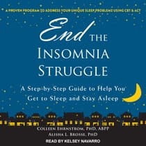 End the Insomnia Struggle by Alisha L. Brosse audiobook