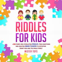 Riddles for Kids: by Mister Toys audiobook