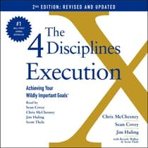 The 4 Disciplines of Execution: Updated and Expanded by Chris McChesney audiobook