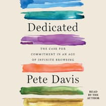 Dedicated by Pete Davis audiobook