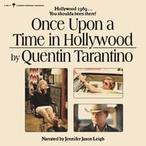 Once Upon a Time in Hollywood by Quentin Tarantino audiobook