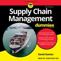 Supply Chain Management For Dummies by Daniel Stanton audiobook