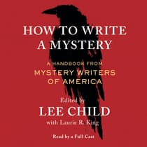 How To Write a Mystery by Mystery Writers of America audiobook