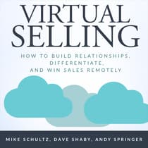 Virtual Selling by Mike Schultz audiobook