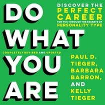 Do What You Are by Paul D. Tieger audiobook