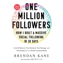 One Million Followers, Updated Edition by Brendan Kane audiobook