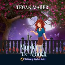 Murder of the Month by Tegan Maher audiobook