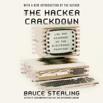 The Hacker Crackdown by Bruce Sterling audiobook