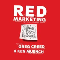 R.E.D. Marketing by Greg Creed audiobook