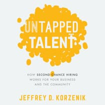 Untapped Talent by Jeffrey D. Korzenik audiobook
