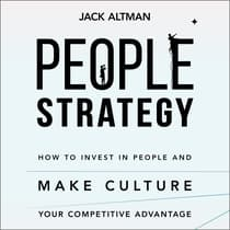 People Strategy by Jack Altman audiobook
