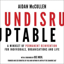 Undisruptable by Aidan McCullen audiobook