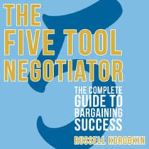 The Five Tool Negotiator by Russell Korobkin audiobook