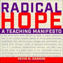 Radical Hope by Kevin M. Gannon audiobook