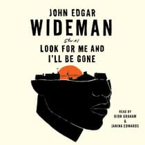 Look for Me and I'll Be Gone by John Edgar Wideman audiobook