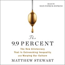The 9.9 Percent by Matthew Stewart audiobook