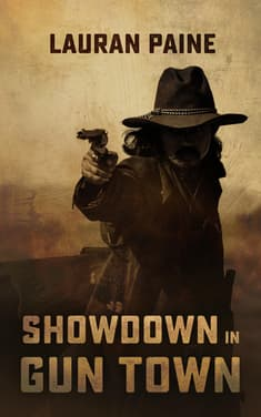 Showdown in Gun Town  by Lauran Paine