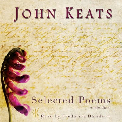 John Keats by John Keats audiobook