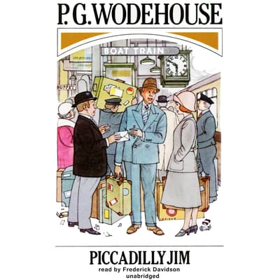 Piccadilly Jim by P. G. Wodehouse audiobook