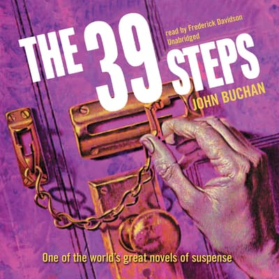 The Thirty-Nine Steps by John Buchan audiobook