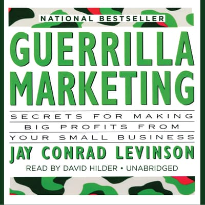 Guerrilla Marketing by Jay Conrad Levinson audiobook