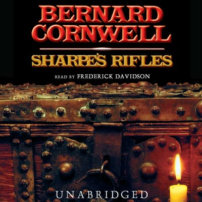 Sharpe's Rifles by Bernard Cornwell audiobook
