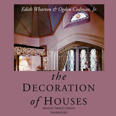 The Decoration of Houses by Edith Wharton audiobook