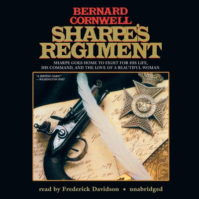 Sharpe's Regiment by Bernard Cornwell audiobook