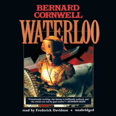Waterloo by Bernard Cornwell audiobook