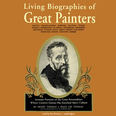 Living Biographies of Great Painters by Henry Thomas audiobook