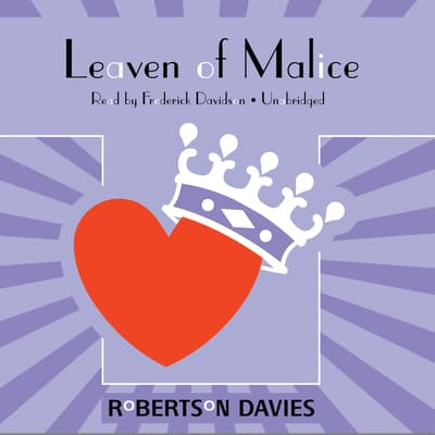 Leaven of Malice by Robertson Davies audiobook