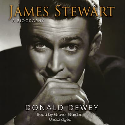 James Stewart by Donald Dewey audiobook