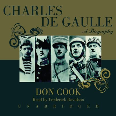 Charles de Gaulle by Don Cook audiobook