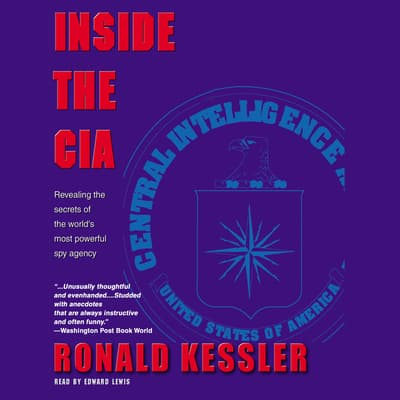 Inside the CIA by Ronald Kessler audiobook