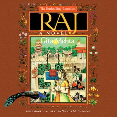 Raj by Gita Mehta audiobook