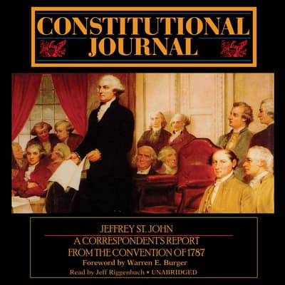 Constitutional Journal by Jeffrey St. John audiobook