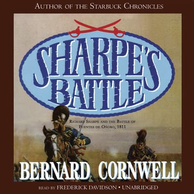 Sharpe's Battle by Bernard Cornwell audiobook