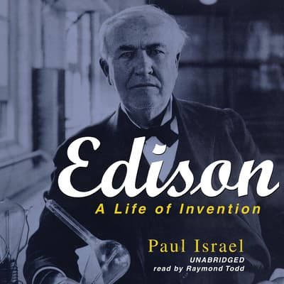 Edison by Paul Israel audiobook