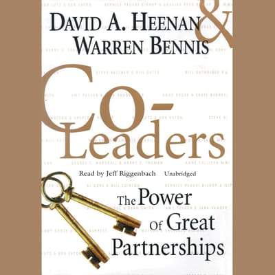 Co-Leaders by David A. Heenan audiobook
