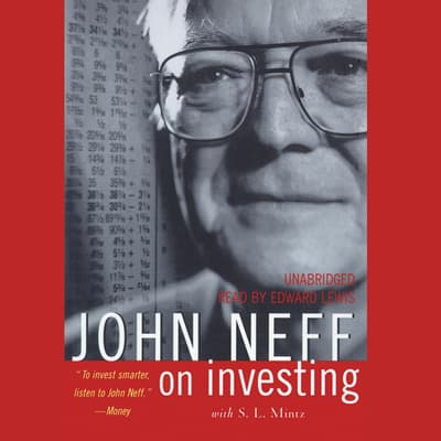 John Neff on Investing by John Neff audiobook