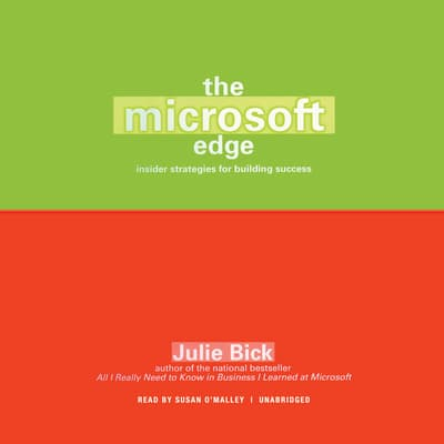 The Microsoft Edge by Julie Bick audiobook