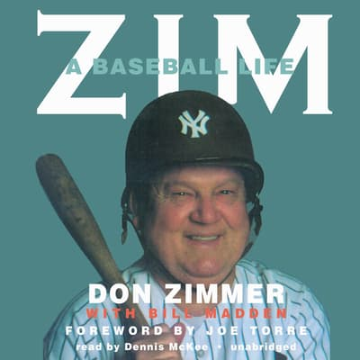 Zim by Don Zimmer audiobook